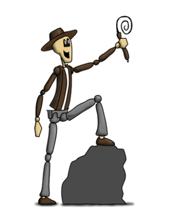Adventureman Dave – He likes to go on adventures and can spin a quick haiku (and quick with his puns).